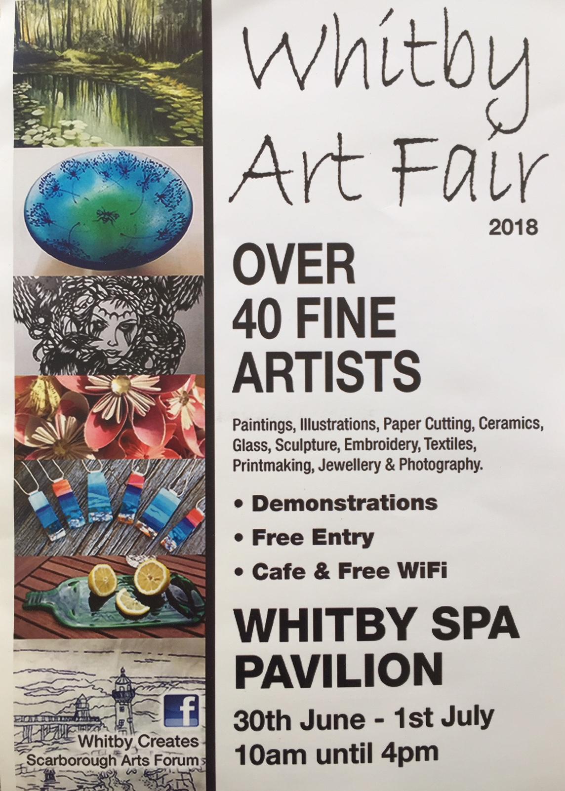 Whtby art fair poster